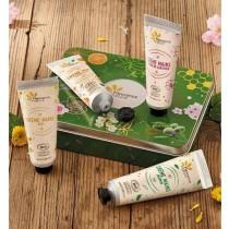天然植萃護手霜-限量綠色禮盒
